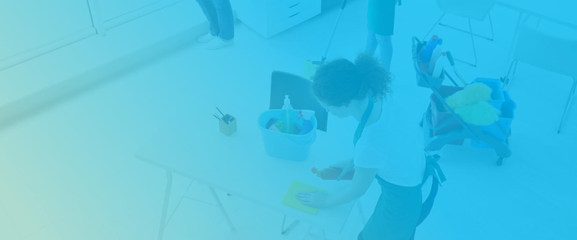 Čiščenje in razkuževanje prostorov z Actinia Cleaning