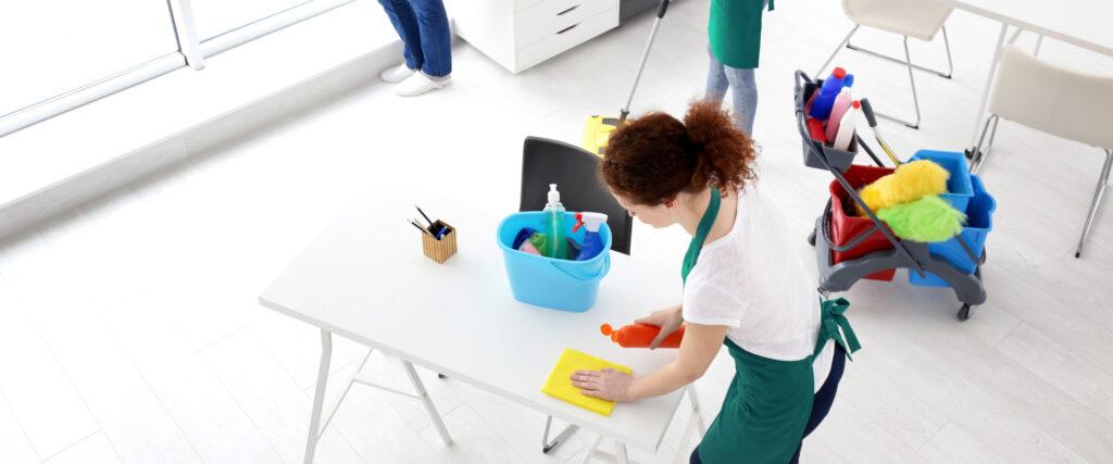 čiščenje prostorov